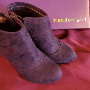 Madden Girl Suede Shoes